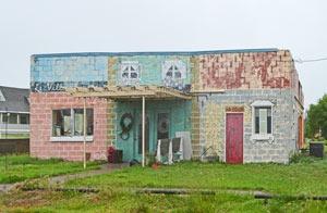 Damar, Kansas building by Kathy Weiser-Alexander.
