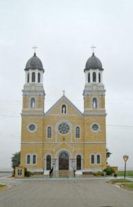 St. Joseph Catholic Church in Damar, Kansas by Kathy Weiser-Alexander.