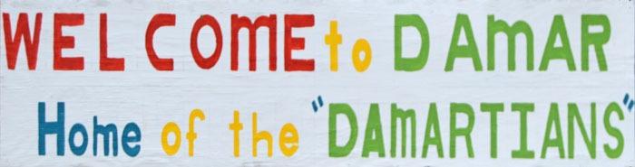 Welcome to Damar, Kansas by Kathy Weiser-Alexander.