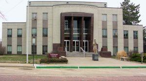 Ellsworth County Courthouse in Ellsworth, Kansas courtesy Wikipedia.