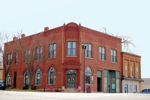 Eudora, Kansas building by Kathy Weiser-Alexander.