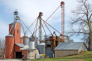Eudora, Kansas Grain Storage by Kathy Weiser-Alexander.