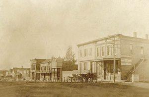 Eudora, Kansas Main Street, 1908.