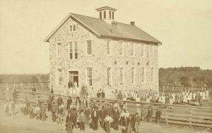 Eudora, Kansas School 1879.