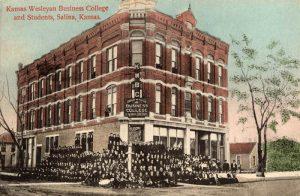 Kansas Wesleyan Business College in Salina, Kansas.