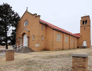 St. Mary's Help of Christians Church in Loretto, Kansas.