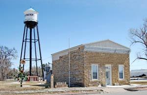McCracken, Kansas Jail Museum by Kathy Weiser-Alexander.