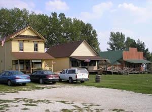 Old Jefferson Town in Oskaloosa, Kansas by Kathy Weiser-Alexander.
