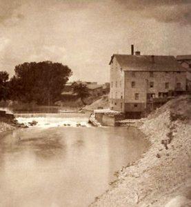 Salina, Kansas Mill, 1879.