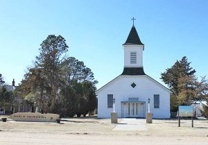 St Boniface Church in Vincent, Kansas.