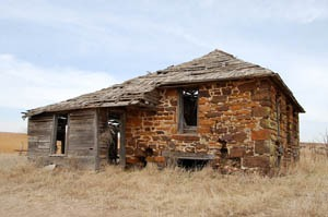 An old building in the Terra Cotta, Kanss area by Kathy Weiser-Alexander.