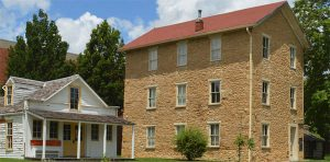 Old Castle Museum, Baldwin, Kansas courtesy Baker University.