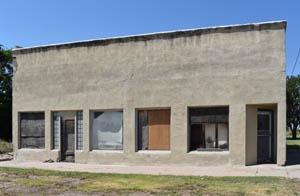 Old business building in Gem, Kansas by Kathy Weiser-Alexander.