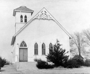 Methodist Church in Gem Kansas.