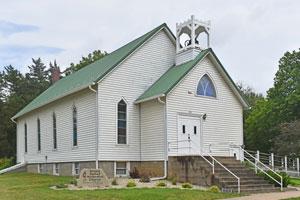 Methodist Church in Green, Kansas by Kathy Weiser-Alexander.