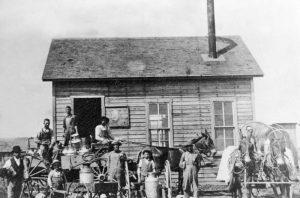 Gym, Kansas Creamery about 1885.