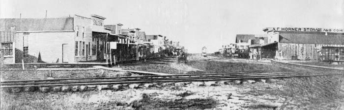 Newton, Kansas, 1872.