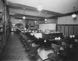 Harvey House Dining Room, Newton, Kansas.