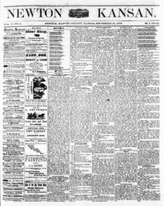 Newton Kansan Newspaper