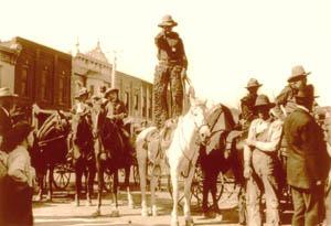 Newton, Kansas Cowboy.