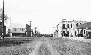 Randolph, Kansas about 1940.