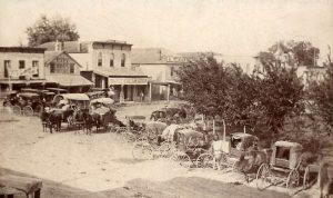 Randolph, Kansas, about 1895.
