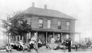 The Logan House was built in 1887 to help establish Russell Springs and to house the construction workers building the courthouse.
