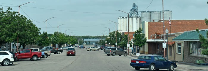 St. Francis, Kansas Business District by Kathy Weiser-Alexander.