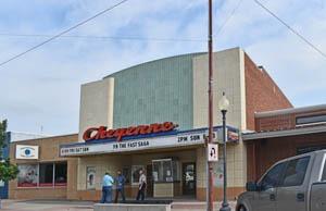 Cheyenne Theater in St. Francis, Kansas.