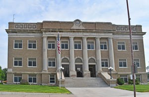 Cheyenne County Courthouse in St. Francis, Kansas by Kathy Weiser-Alexander.