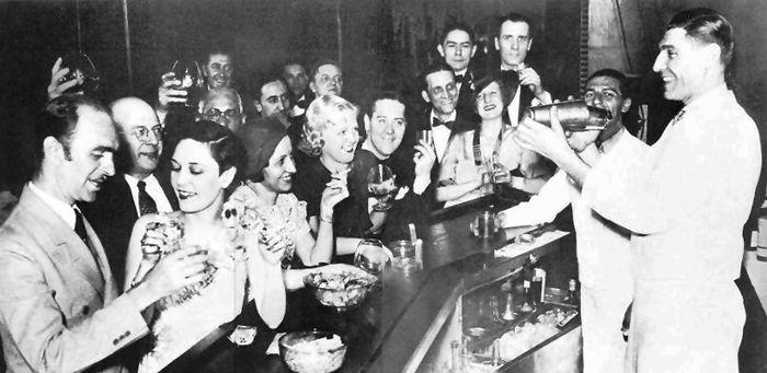 1920s Speakeasy.