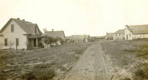 Clayton, Kansas Main Street, 1911.