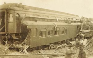 Clayton, Kansas Train Wreck, 1910.