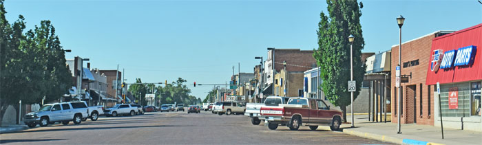 Colby, Kansas Business District by Kathy Weiser-Alexander.
