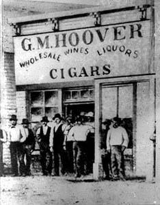 Hoover Saloon, Dodge City, Kansas.