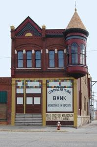 Wellington and Brundage building in Ellsworth, Kansas by Kathy Weiser-Alexander.