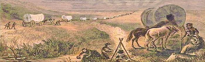 Emigrants Crossing the Plains.