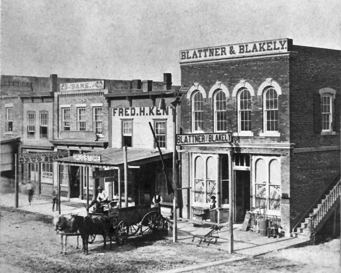 Junction City, Kansas, 1874.