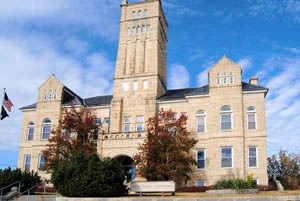 Geary County Courthouse in Junction City, Kansas by Kathy Weiser-Alexander.