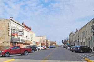 Seventh Street in Junction City, Kansas by Kathy Weiser-Alexander.