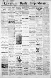 Lawrence Republican Newspaper