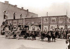 Patterson Circus, Paola, Kansas.