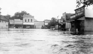 1935 flood in Paxico, Kansas.